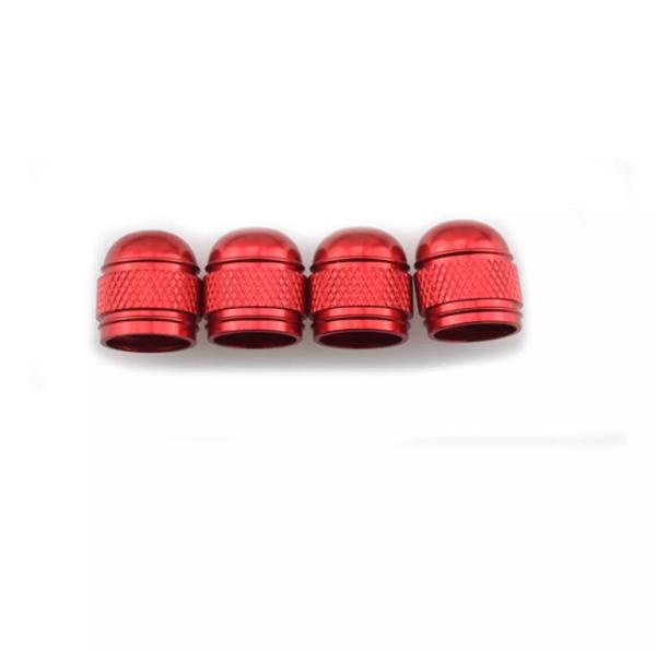 Bouchon valve de couleur en aluminium X2