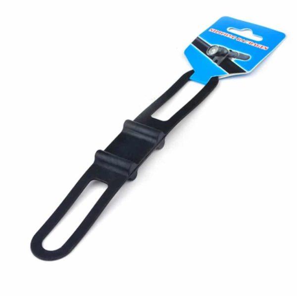 Bracelet en silicone couleur, pour fixation sur guidon guidon