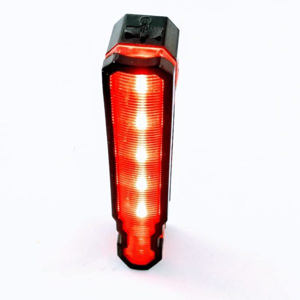 Feu arrière avertissement USB LED, laser ligne de vie