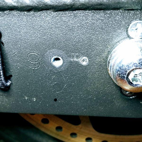 Vis Inox A2 sous cache-roue X8