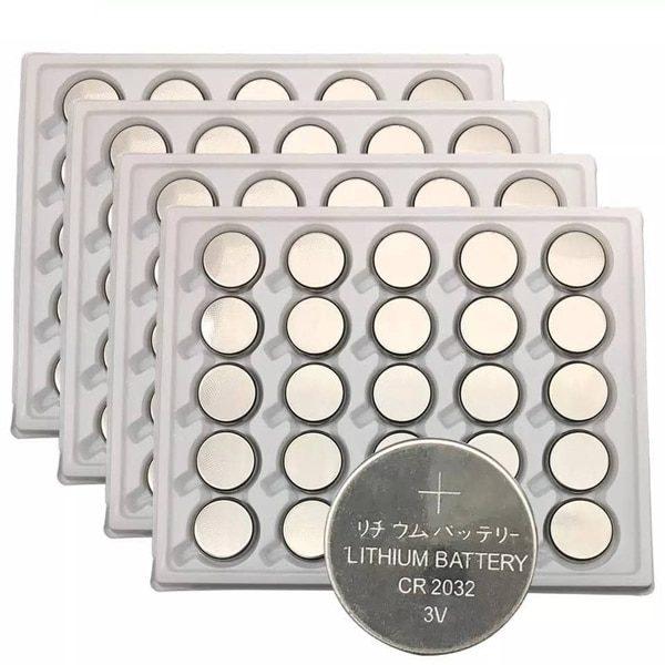 Lot de 8 piles CR2032