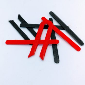 Languettes couleur 3D cache roue M365