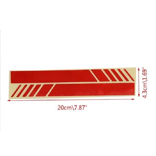 stickers xiaomi m365 / m365 pro rouge