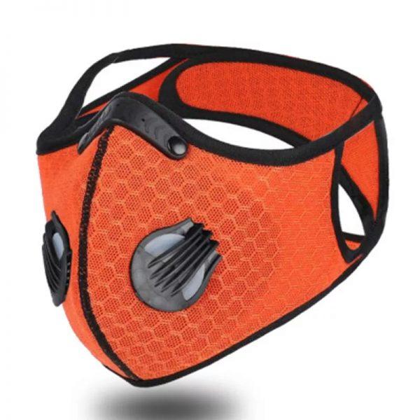 Masque Sport lavable, filtre anti particule / anti pollution